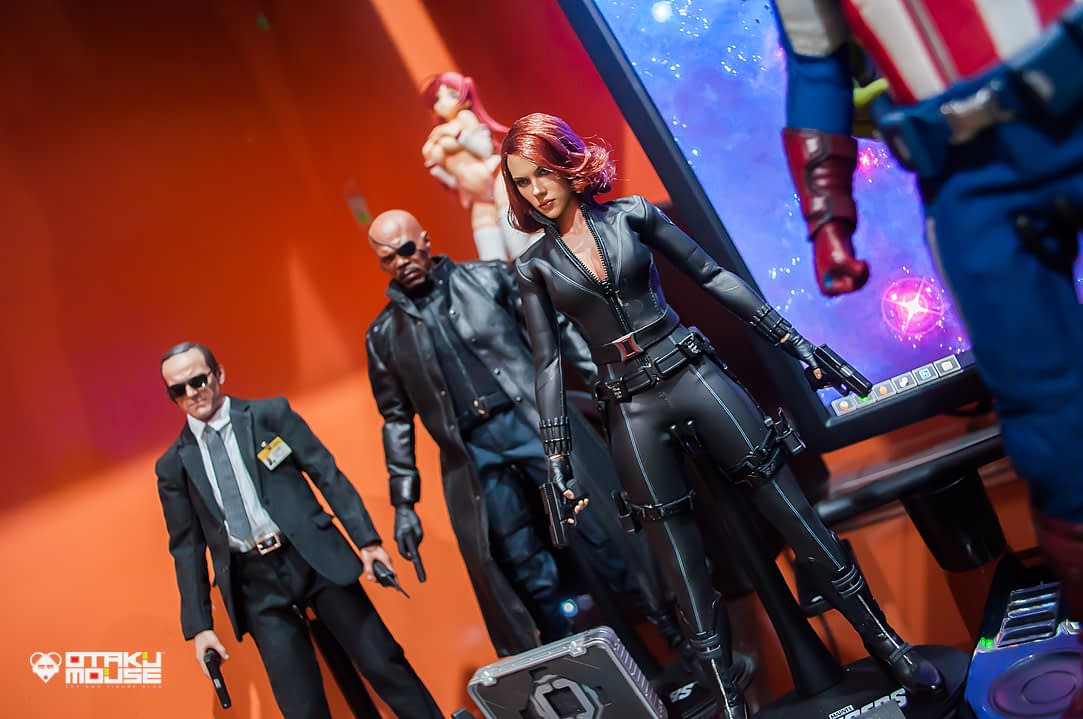 Hot Toys Avengers Line Complete (9)