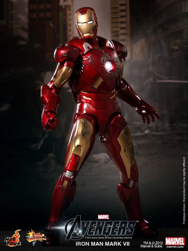 Preview | Hot Toys: Ironman Mark VII (6)