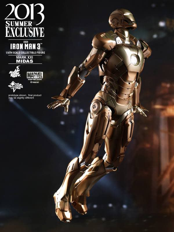 Preview | Hot Toys: Iron Man Mark XXI (Midas) (6)