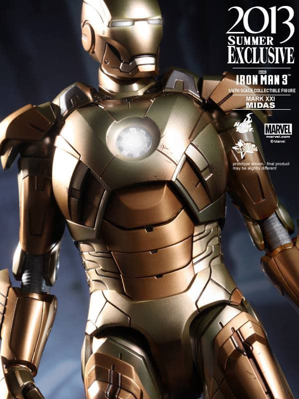 Preview | Hot Toys: Iron Man Mark XXI (Midas) (13)