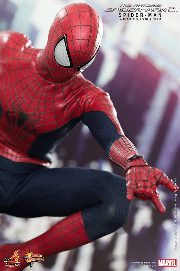 Preview   Hot Toys: Spider-Man (The Amazing Spider-Man 2) (16)