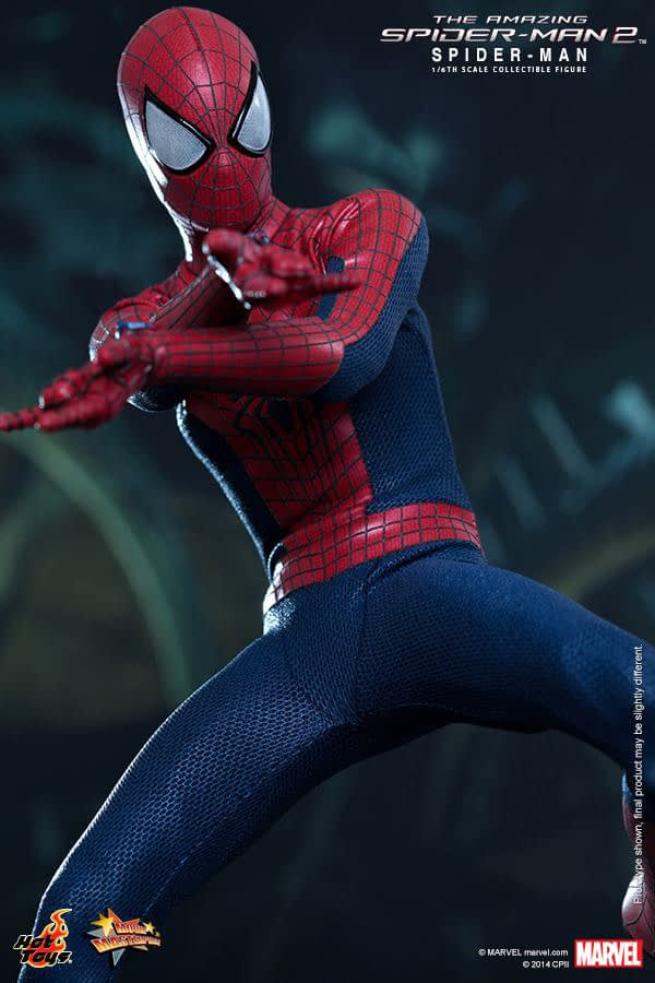 Preview   Hot Toys: Spider-Man (The Amazing Spider-Man 2) (3)