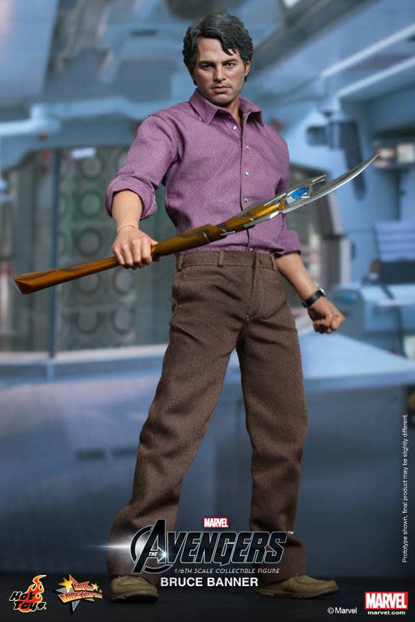 Preview | Hot Toys: Bruce Banner (4)