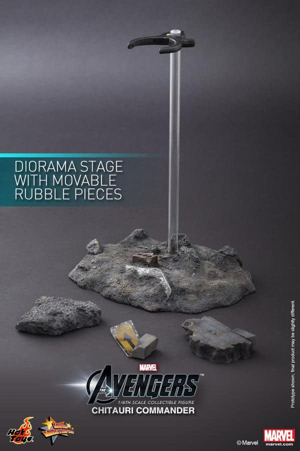 Preview   Hot Toys: Chitauri Commander (15)