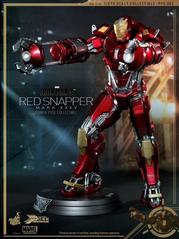 Preview | Hot Toys: Iron Man Mark 35 (Red Snapper) (3)