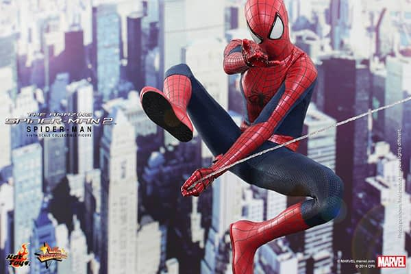 Preview   Hot Toys: Spider-Man (The Amazing Spider-Man 2) (1)