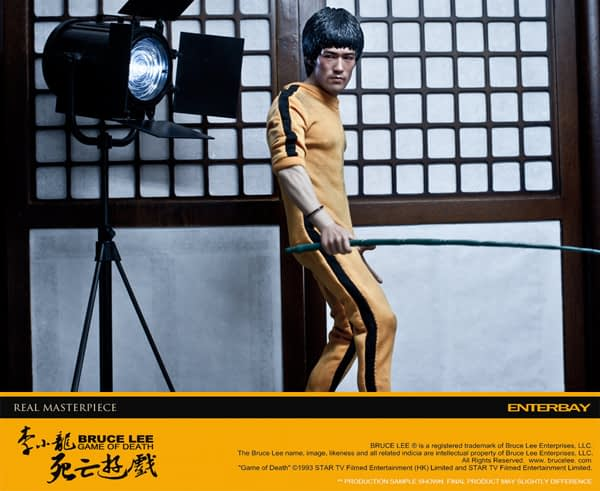 Enterbay: Bruce Lee Game Of Death (Behind The Scene) Edition (1)