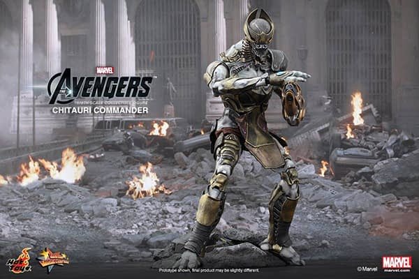 Preview   Hot Toys: Chitauri Commander (1)
