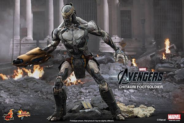 Preview | Hot Toys: Chitauri Footsoldier (1)