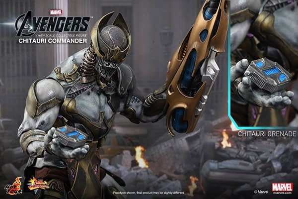 Preview   Hot Toys: Chitauri Commander (12)