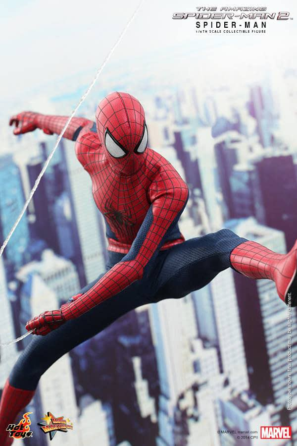 Preview   Hot Toys: Spider-Man (The Amazing Spider-Man 2) (4)