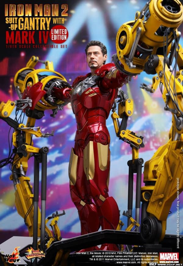 Preview | Hot Toys: Ironman 2 Limited Edition Suit Up Gantry (2)
