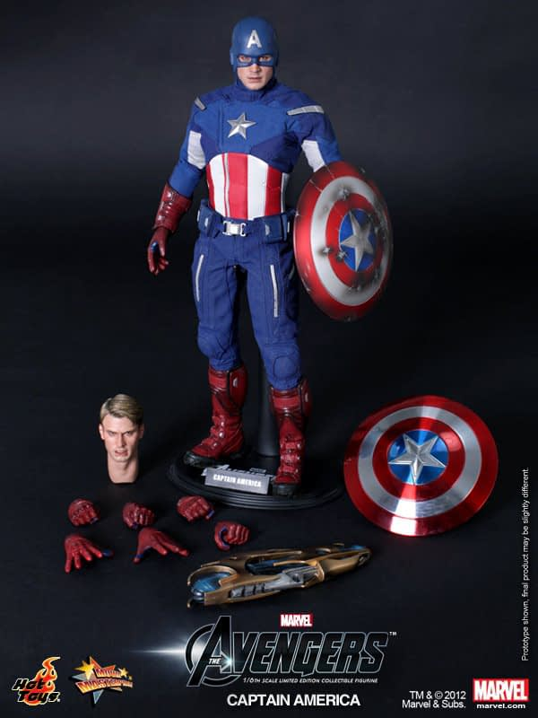 Preview   Hot Toys: Captain America (Avengers) (7)
