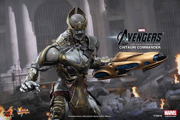 Preview   Hot Toys: Chitauri Commander (9)