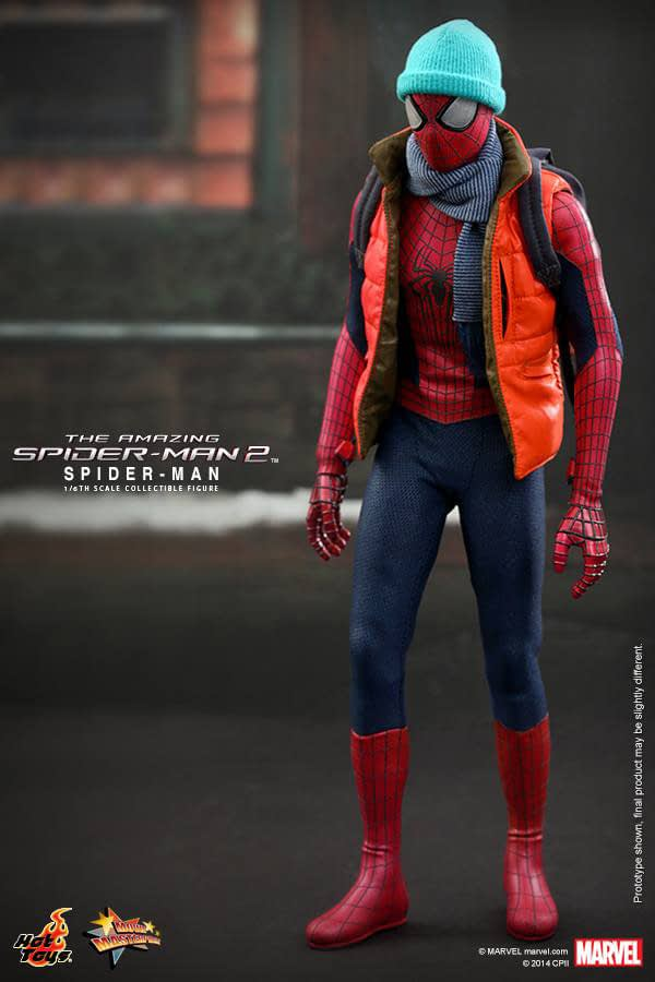Preview   Hot Toys: Spider-Man (The Amazing Spider-Man 2) (2)