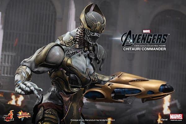Preview   Hot Toys: Chitauri Commander (10)