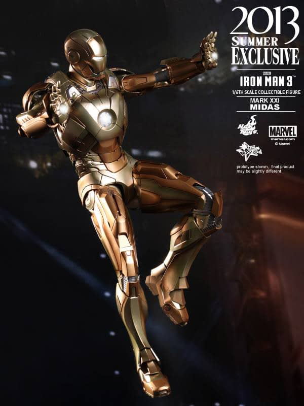 Preview | Hot Toys: Iron Man Mark XXI (Midas) (3)