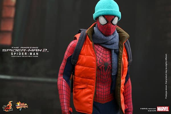 Preview   Hot Toys: Spider-Man (The Amazing Spider-Man 2) (10)