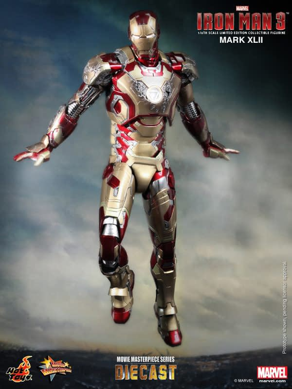 Preview | Hot Toys: Iron Man Mark XLII (Diecast) (6)