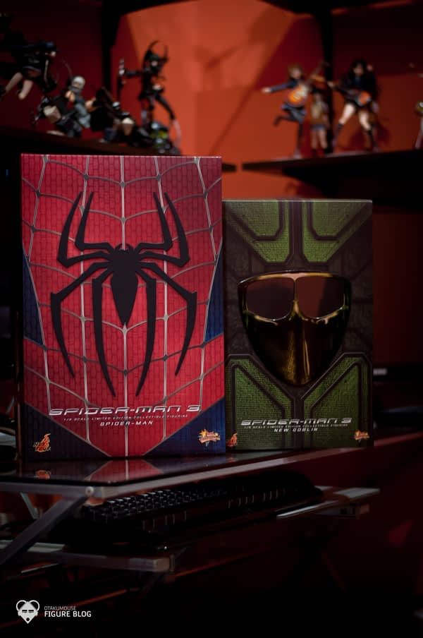 Hot Toys Spiderman & New Goblin Get! (1)