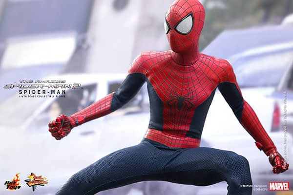 Preview   Hot Toys: Spider-Man (The Amazing Spider-Man 2) (9)