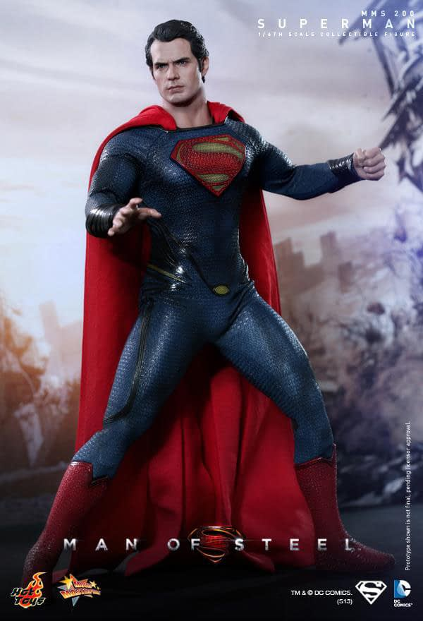 Preview | Hot Toys: Superman (Man Of Steel) (3)