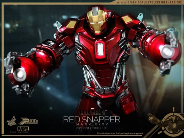 Preview | Hot Toys: Iron Man Mark 35 (Red Snapper) (10)