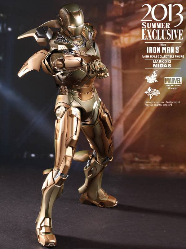 Preview | Hot Toys: Iron Man Mark XXI (Midas) (8)