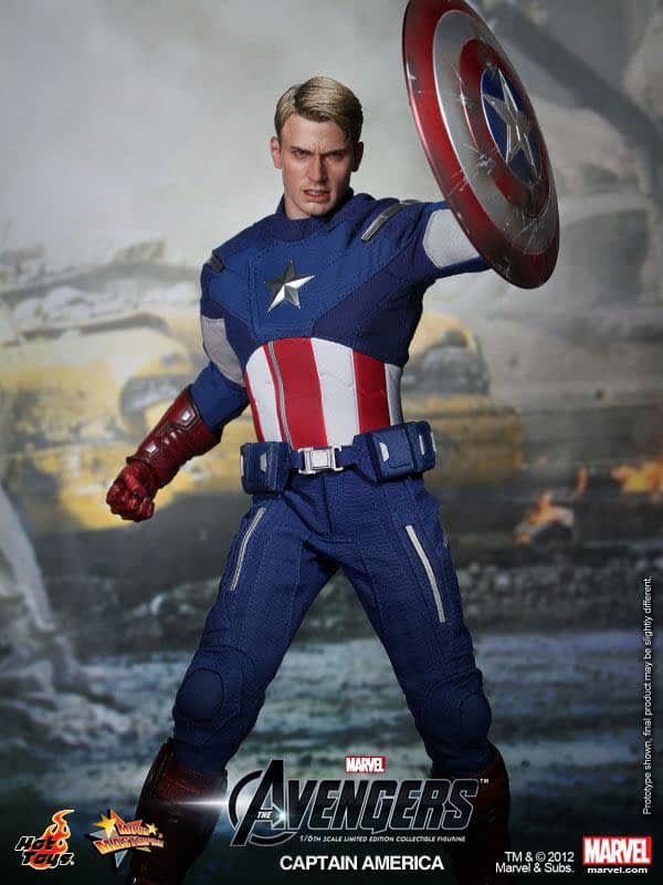 Preview   Hot Toys: Captain America (Avengers) (6)
