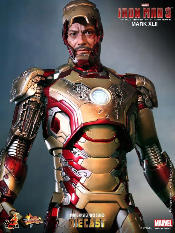 Preview | Hot Toys: Iron Man Mark XLII (Diecast) (9)