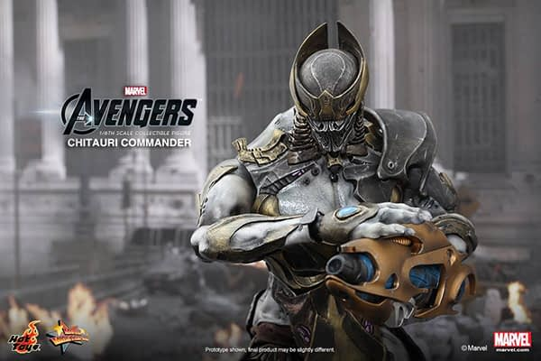 Preview   Hot Toys: Chitauri Commander (7)