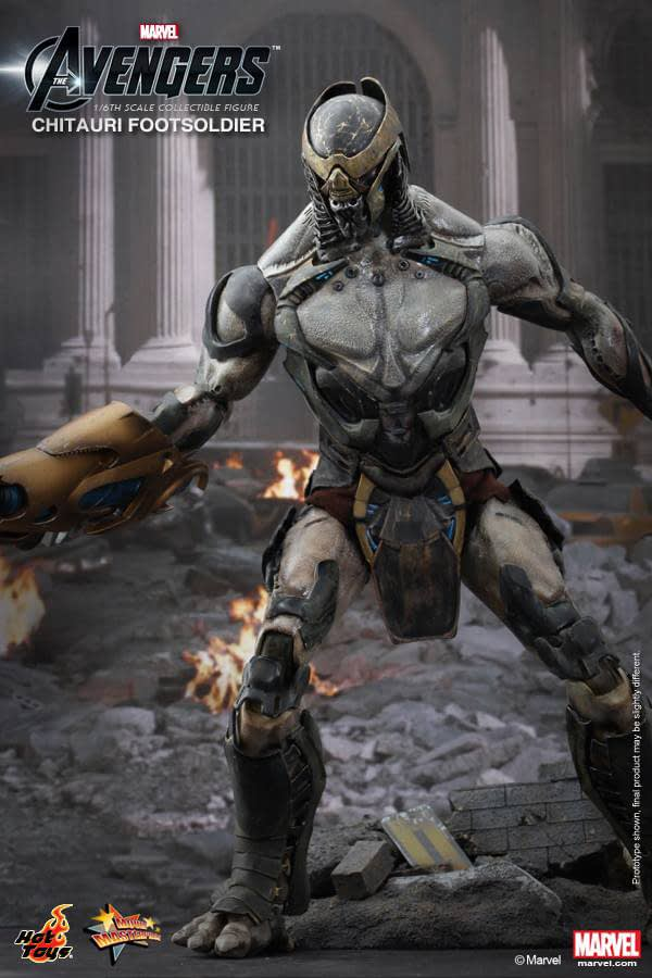 Preview | Hot Toys: Chitauri Footsoldier (4)