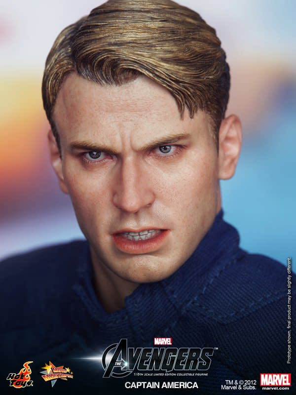 Preview   Hot Toys: Captain America (Avengers) (8)
