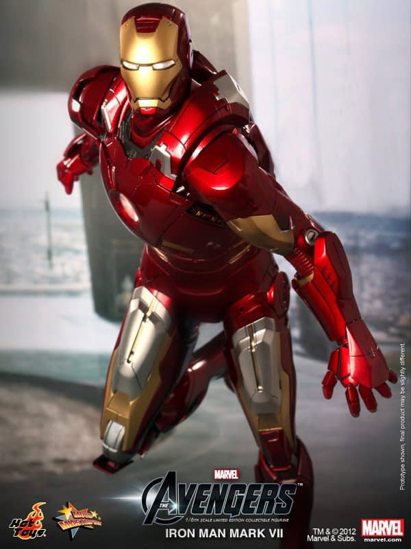 Preview | Hot Toys: Ironman Mark VII (8)
