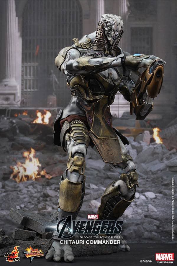 Preview   Hot Toys: Chitauri Commander (5)