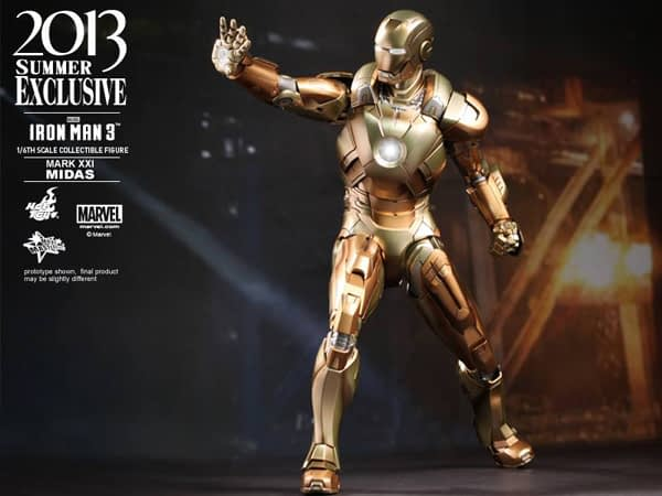 Preview | Hot Toys: Iron Man Mark XXI (Midas) (9)
