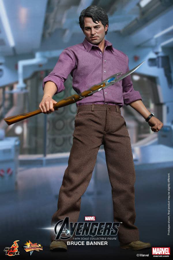 Preview | Hot Toys: Bruce Banner (5)