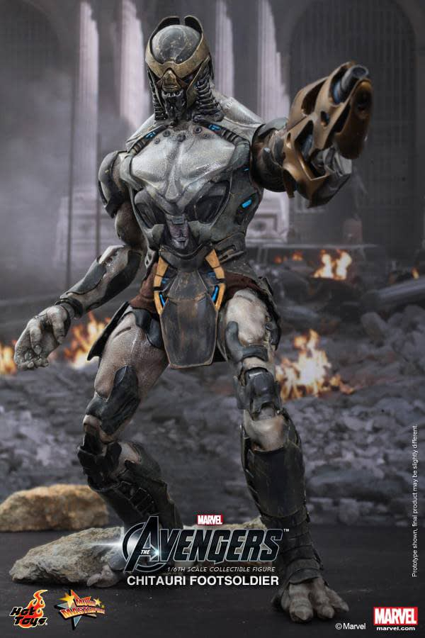 Preview | Hot Toys: Chitauri Footsoldier (3)