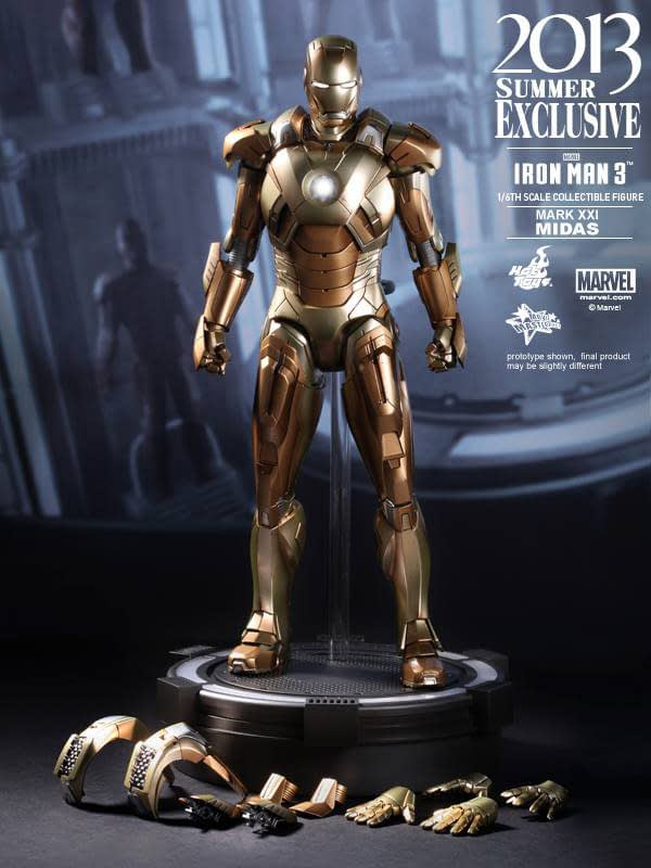 Preview | Hot Toys: Iron Man Mark XXI (Midas) (15)