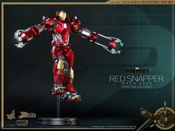 Preview | Hot Toys: Iron Man Mark 35 (Red Snapper) (5)