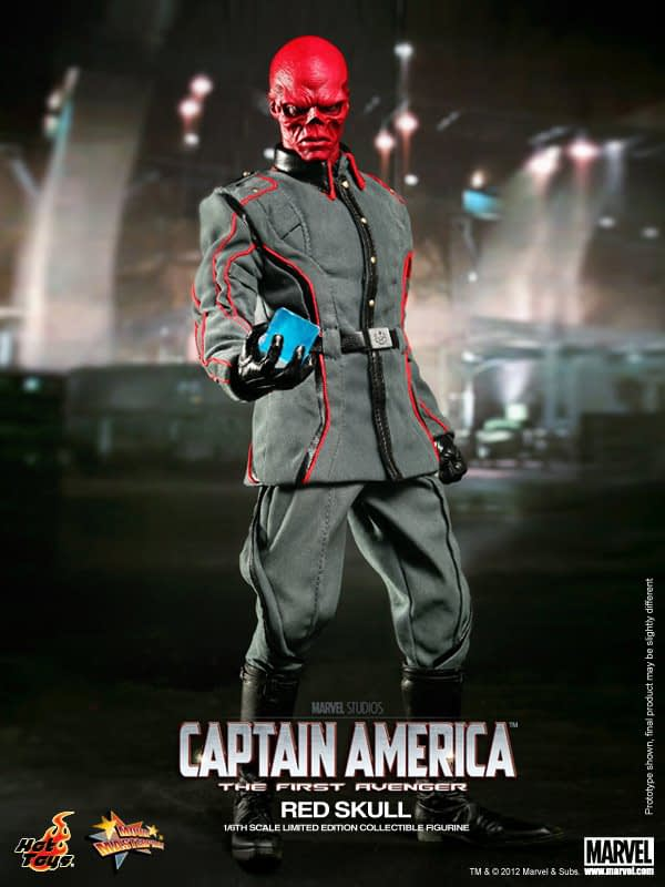 Preview   Hot Toys: Red Skull (13)