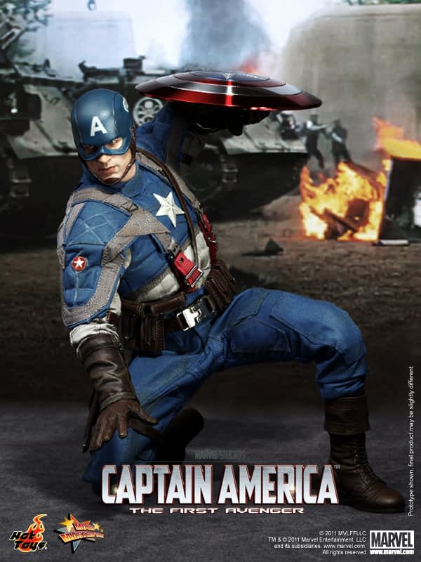 Preview | Hot Toys: Captain America (9)