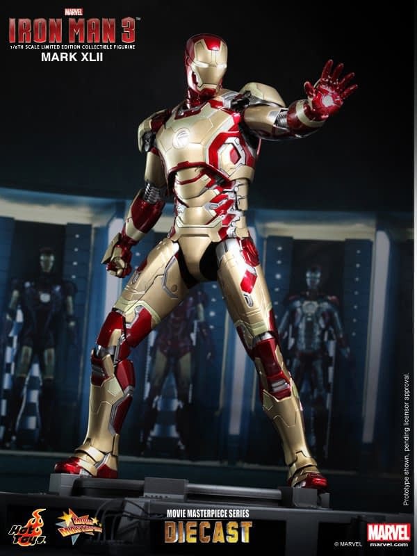 Preview | Hot Toys: Iron Man Mark XLII (Diecast) (2)