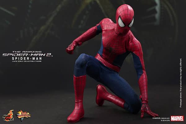 Preview   Hot Toys: Spider-Man (The Amazing Spider-Man 2) (13)
