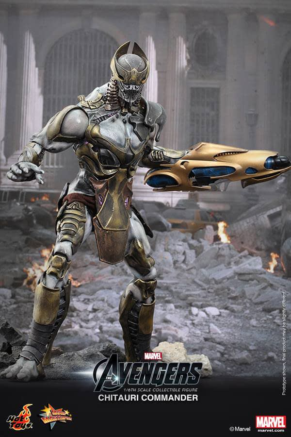 Preview   Hot Toys: Chitauri Commander (3)