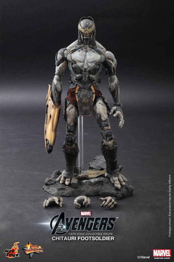 Preview | Hot Toys: Chitauri Footsoldier (11)