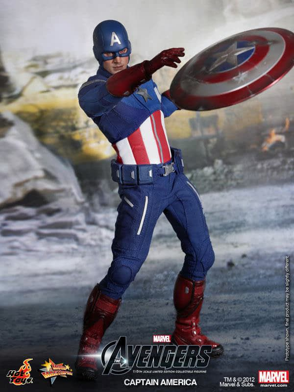 Preview   Hot Toys: Captain America (Avengers) (16)