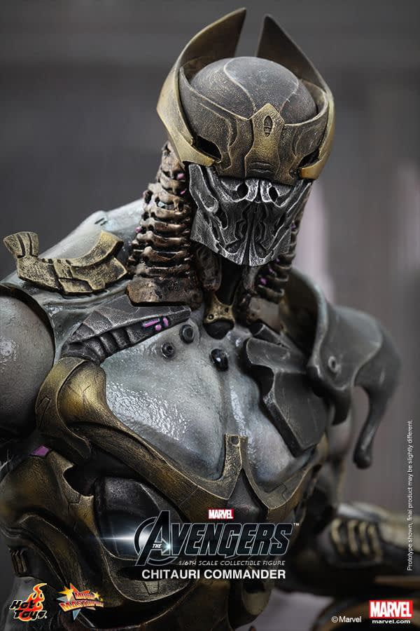 Preview   Hot Toys: Chitauri Commander (13)