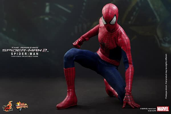 Preview   Hot Toys: Spider-Man (The Amazing Spider-Man 2) (11)
