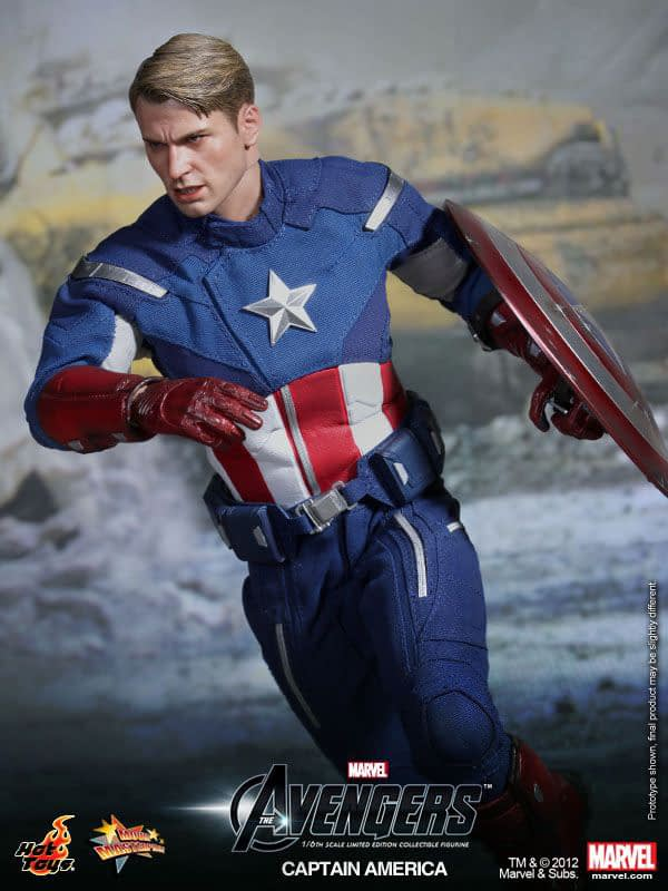 Preview   Hot Toys: Captain America (Avengers) (3)